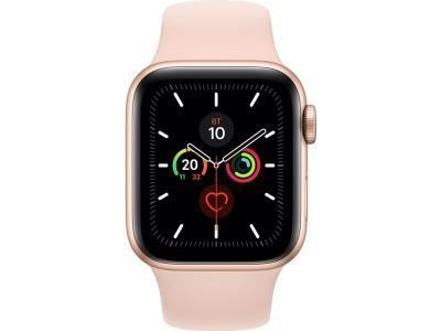 Apple Watch 5 44mm MWV72 Gold Case with Pink Sand Sport Band