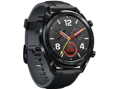 Смарт часы Huawei / WATCH GT SPORT BLACK (FTN-B19)