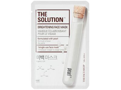 THE SOLUTION Маска для лица BRIGHTENING FACE MASK