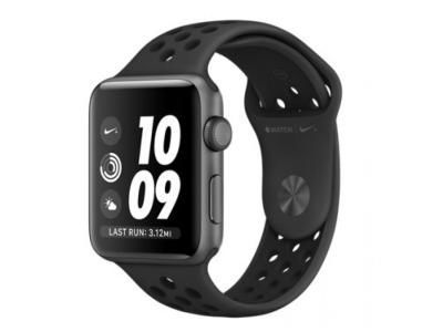 AppleWatch Nike Series 3 GPS, 42mm Space Grey Aluminium Case with Anthracite/Black Nike Sport Band