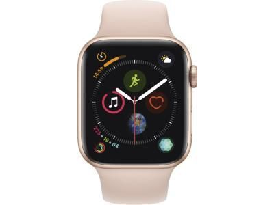 AppleWatch Series4 GPS, 44mm Gold Aluminium Case with Pink Sand Sport Band