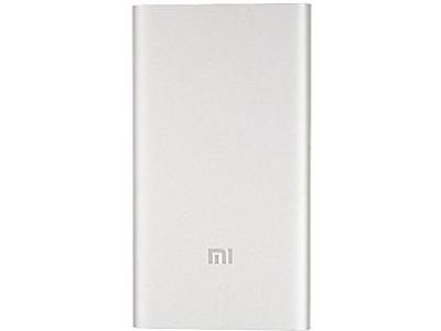 5000mAh silver ORIGINAL/ Power bank Xiaomi