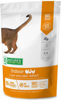 NP Indoor Poultry 1 year and older Adult cat 400g корм для кошек