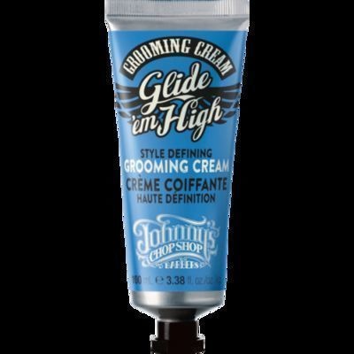 Johnny's Chop Shop Barbers Grooming Cream Glide'em High