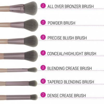 BH Cosmetics Lavish Elegence 15 Piece Brush Set