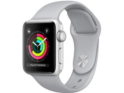 Смарт-часы Apple Watch Series 3 42mm Aluminum Case with Sport Band Silver