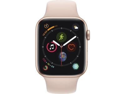 Смарт-часы Apple Watch Series 4 44mm Gold Aluminium Case With Pink Sand Sport Band