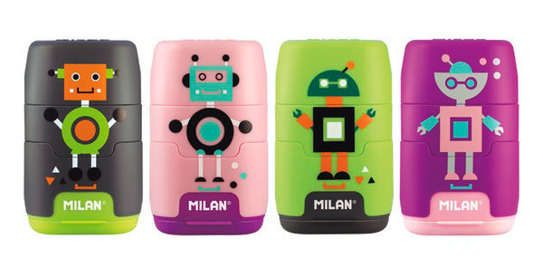 Точилка Milan Happy Bots