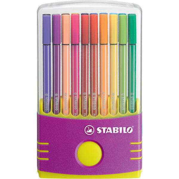 Фломастеры STABILO Pen 68 ColorParade lilac