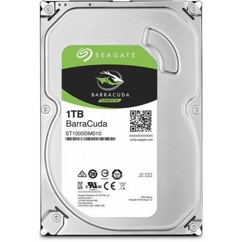 Жесткий диск HDD 1Tb Seagate Barracuda SATA (ST1000DM010)