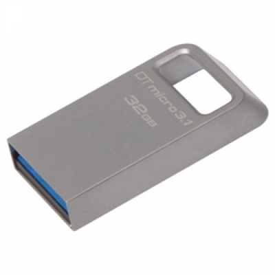 USB Флеш накопитель Kingston DTMC3 32GB (USB Флеш 32GB 3.1 Kingston DTMC3/32GB металл)