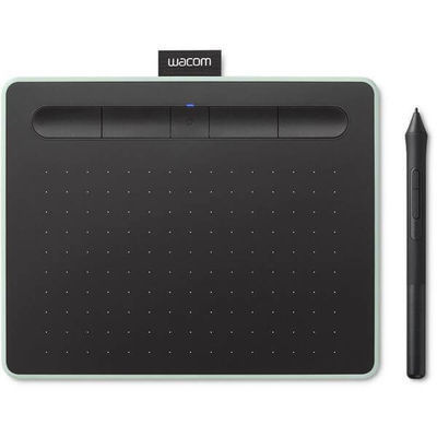 Графический планшет Wacom Intuos Small Bluetooth (Графический планшет, Wacom, Intuos Small Bluetooth (CTL-4100WLE-N), Разрешение 2540 lpi, Чувствитель)