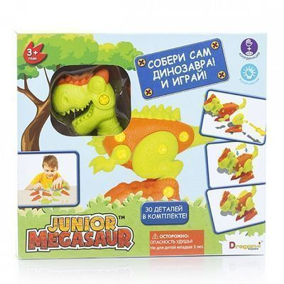 "Игрушка Junior Megasaur ""Собери динозавра"""
