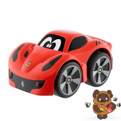 Chicco: Машинка Turbo Touch Mini Ferrari F12 TDF 2г+