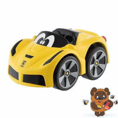 Chicco: Машинка Turbo Touch Mini LaFerrari 2г+