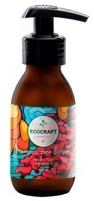 Ecocraft Natural Face Cleancing Oil Mango & Pink Ginger